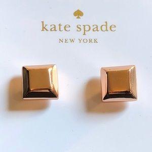 """Kate Spade Rose Gold """"Big Dipper"""" earrings"""